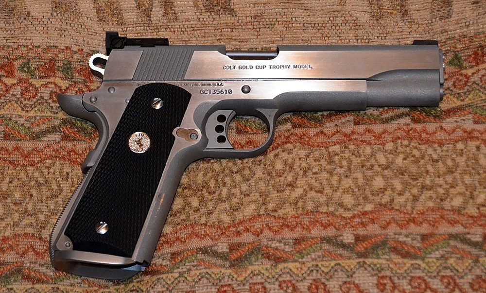 Colt Gold Cup Trophy, Stainless