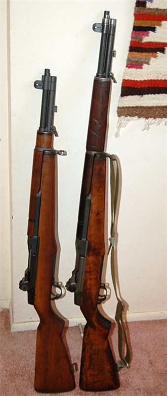 Lee Enfield  tanker   Two_garands