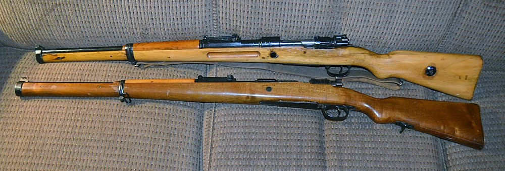 And now there are two (Gew 98 Carbines)